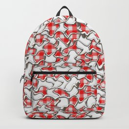 Gingham Mosaic Tiles Backpack