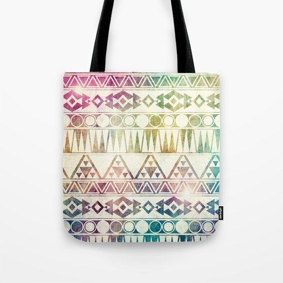 Tribal Horizons Tote Bag