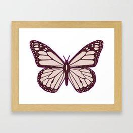 Butterfly Cutie Framed Art Print
