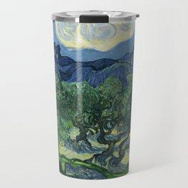 Olive Trees by Vincent van Gogh Travel Mug