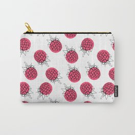 Raspberry pink pattern Carry-All Pouch