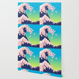 Piglets Waves Wallpaper