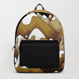 The gold snow peaks Backpack