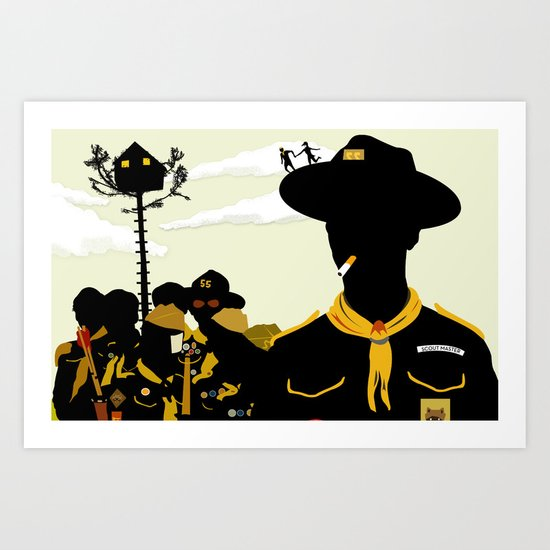 Moonrise Kingdom 2 Art Print