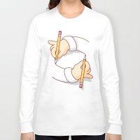escher Long Sleeve T-shirts featuring M.C. Escher Tribute by Burnt Toast Creative