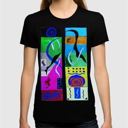 Paradise Color . Inspiration From Matisse T-shirt