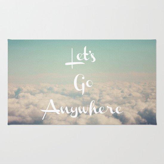 Let's Go Anywhere Rug