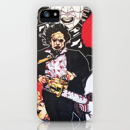 Hollywood Horror iPhone Case