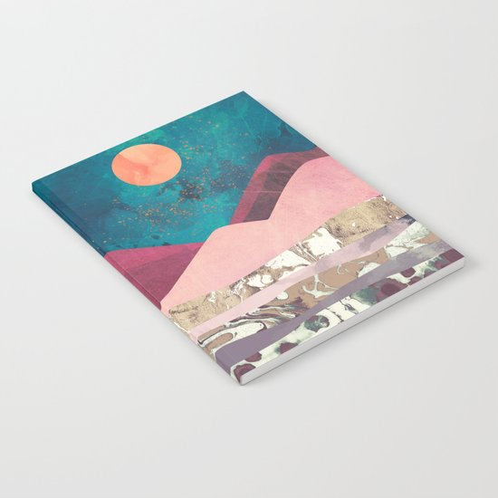 Magenta Mountain Notebook