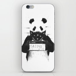 Bad panda iPhone Skin