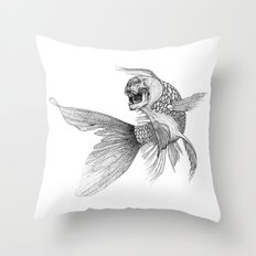 All that glitters... Throw Pillow