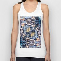 community Tank Tops featuring Community of Cubicles by Phil Perkins