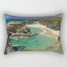 The Alentejo coastline, Portugal Rectangular Pillow