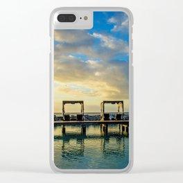 Cabana Art Clear iPhone Case