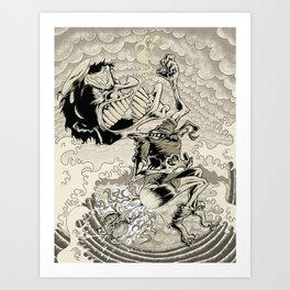 Unrepentant Art Print