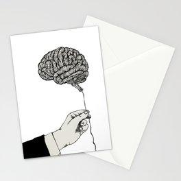mindless, inktober Stationery Cards