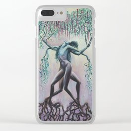 Intertwine Clear iPhone Case