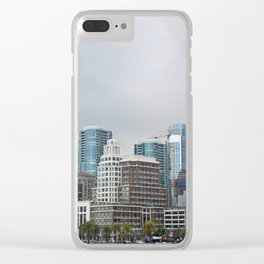 Downtown San Francisco, Changing Skyline Clear iPhone Case