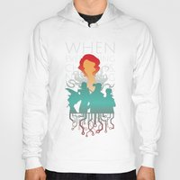transistor Hoodies featuring When everything changes, nothing changes. by Agustindesigner