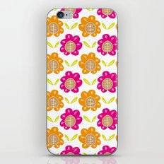 Friendship Flowers iPhone & iPod Skin