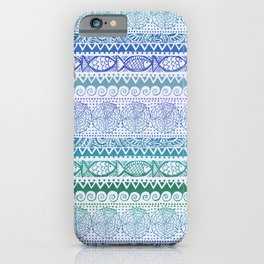 Sea of Stripes iPhone Case