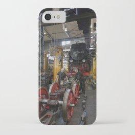 Disassembled steam locomotive iPhone Case