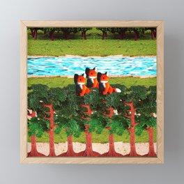 Guardians Framed Mini Art Print
