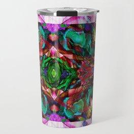 Acid Rose Travel Mug