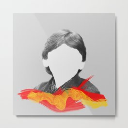 I'm Ron by the way, Ron Weasley. Metal Print