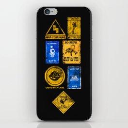 USEFUL SIGNS iPhone Skin