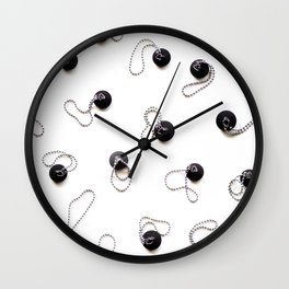 Get your plug back! Pattern Style 02 Wall Clock