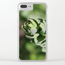 Yellowstone Wildflowers 3 Clear iPhone Case