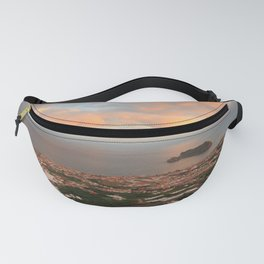 Coastal town in Azores Fanny Pack