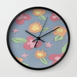 Flora Duh Wall Clock