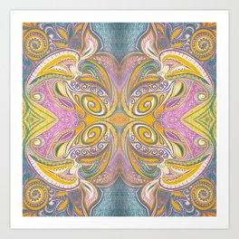 Majestic 2 Symmetrical design Art Print