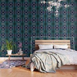 DRAMAQUEEN - GOLD INDIGO MARBLE Wallpaper