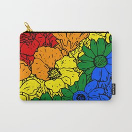 Gay flowers Carry-All Pouch