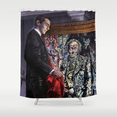 Dorian Gray Revisited Shower Curtain