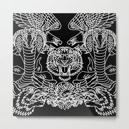FLASH COLLAGE Metal Print
