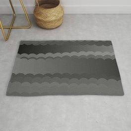 Gray Waves Rug