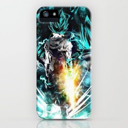 Vegeth super Saiyan god Blue iPhone Case