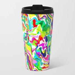 Fluid Rainbow Travel Mug