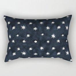 Midnight Starlet Rectangular Pillow