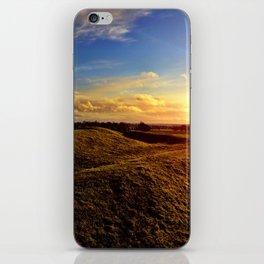 Cnoc na Teamhrach - The Hill of Tara iPhone Skin