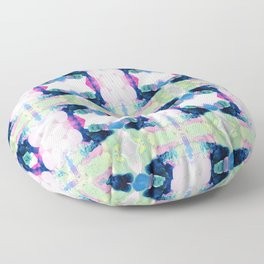 Friday Evening (Abstract Painting) Floor Pillow