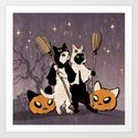 halloween cats by demianasche