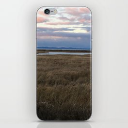 Coastal Cotton Candy Colors iPhone Skin