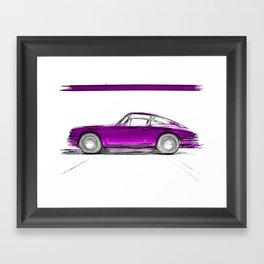 Porsche 911 / III Framed Art Print