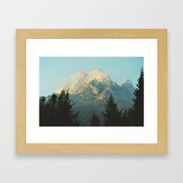 Dolomiti Framed Art Print