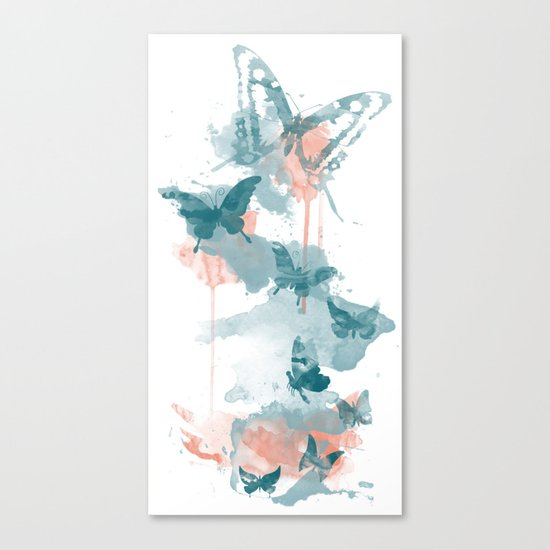 Butterflight Canvas Print